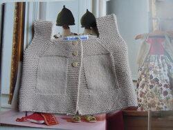 Gilet tricot AR 3mois