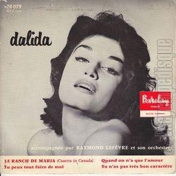 Dalida, 1957