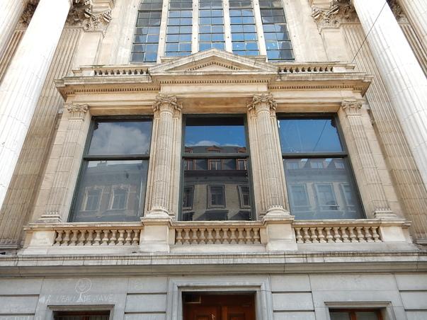 La bourse de Bruxelles et ses environs
