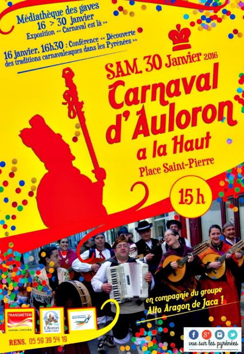 Demain c'est carnaval...
