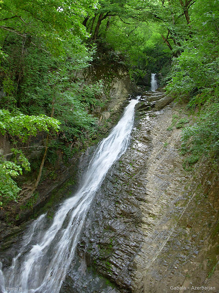 450px-Waterfall Gabala Azerbaijan