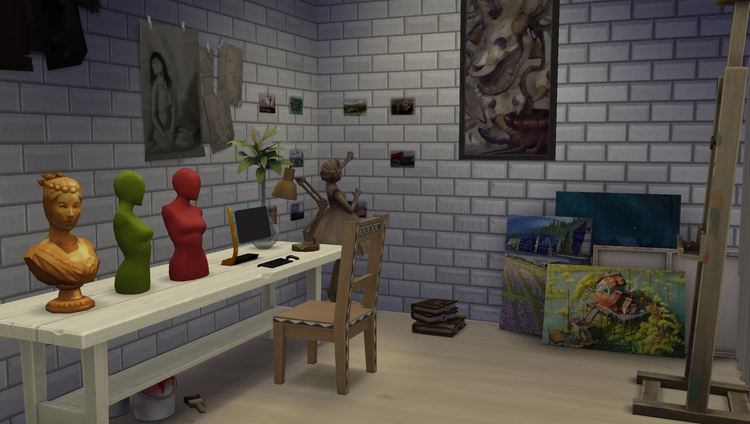 L'appartement de Diego et Frida sims 4