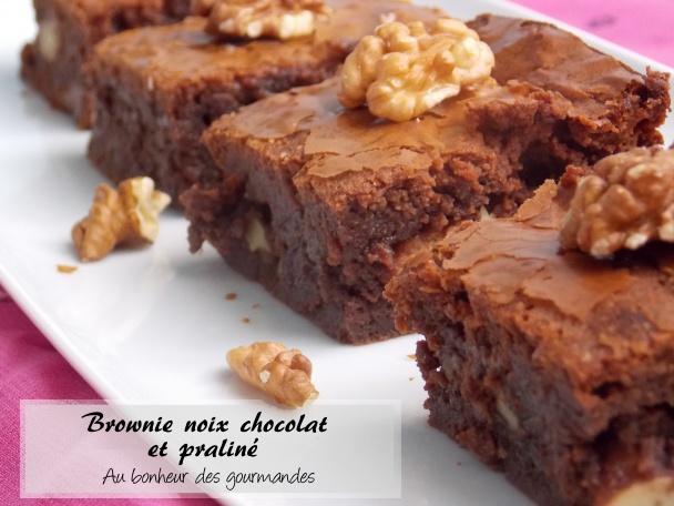 Est-ce qu'un brownie praliné-chocolat fera oublier cette longue absence ?