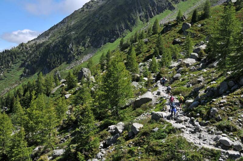 Le Grand Balcon nord de Chamonix (5)