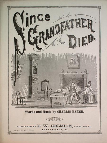 Grand-papa est décédé