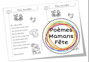 Poèmes sur les mamans pour la fête des mères