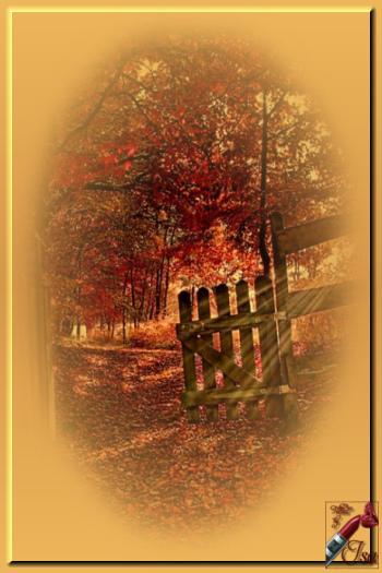 AUT0014 - Tube paysage d'automne