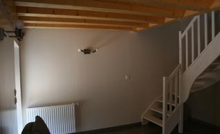Réhabilitation d'une annexe en loft.