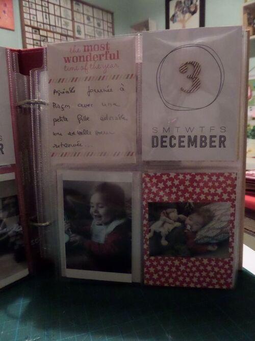 1ère semaine de mon december daily