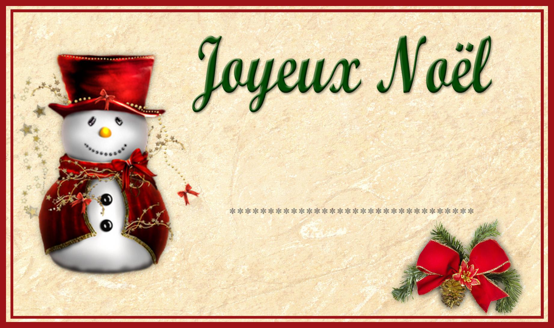 Hervorragend Etiquettes de Noël à Imprimer - Chez-Mireille D OW06