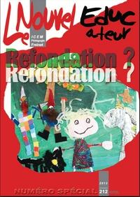 """- Un numéro spécial sur la RFDE de la revue de l'ICEM 'le nouvel éducateur"""""""