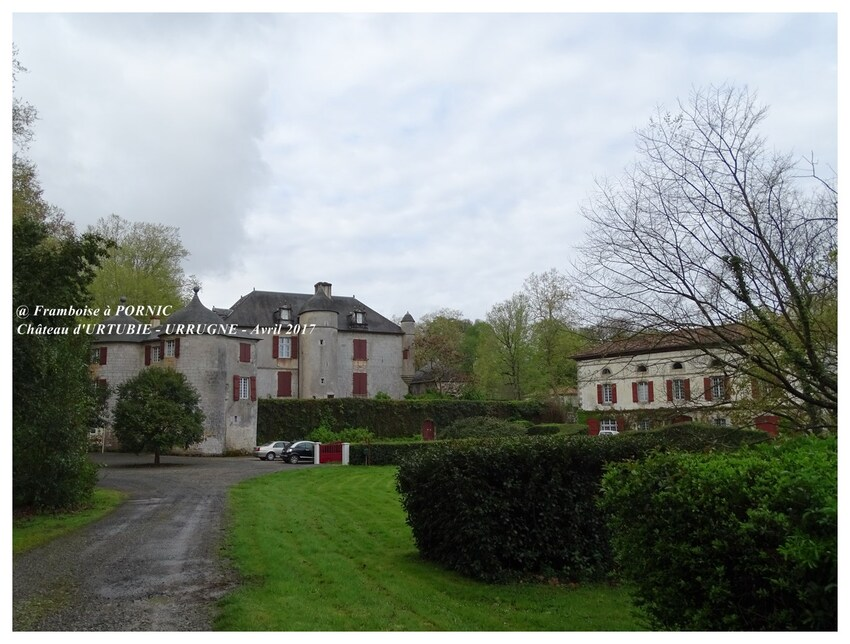 Château d'Urtubie - Urrugne- Côte basque 2017