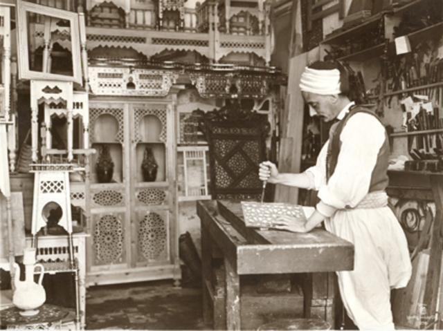 Ebebiste  Tunis. 1910