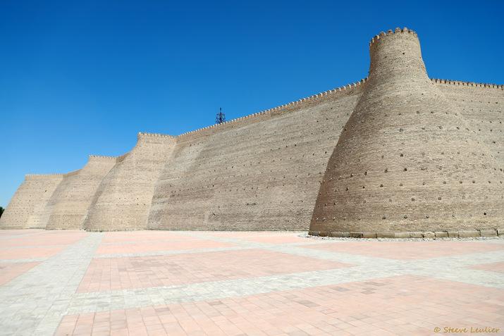 Mur d'enceinte de la citadelle Ark, Boukhara