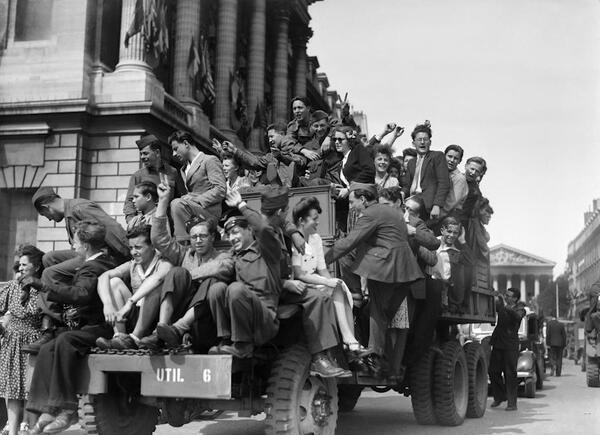 Capitulation de l'Allemagne le 8 mai 1945