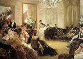 Hush! (or The Concert) - James Jacques Joseph Tissot - www.jamestissot.org