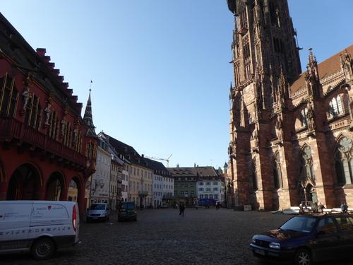 Freiburg ou Fribourg (3) Allemagne,fév 2017