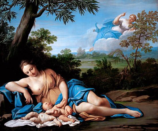 Naissance d'Apollon et Artémis