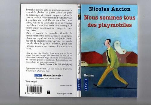 Nous sommes tous des playmobiles -  Nicolas Ancion