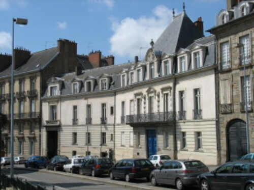 Tribunal administratif de Rennes : Histoire du tribunal