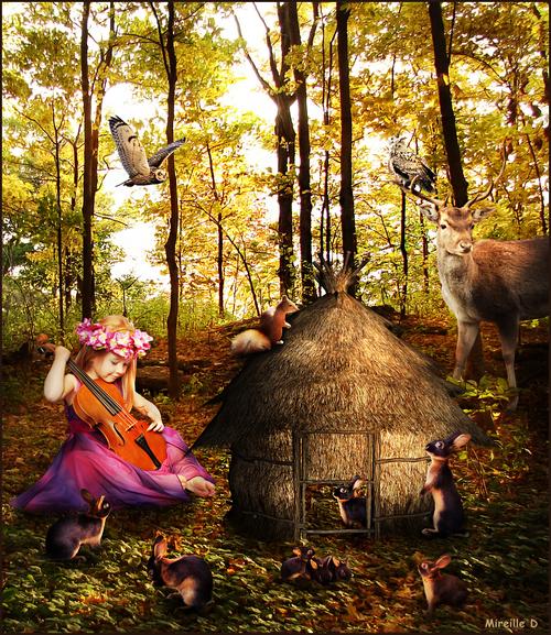 La Maison des Lapins (Photomontage)