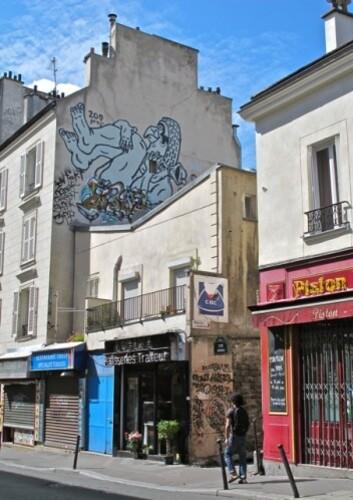 Zoo Project street-art rue Charonne