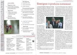 Guide des formations agriculture et environnement