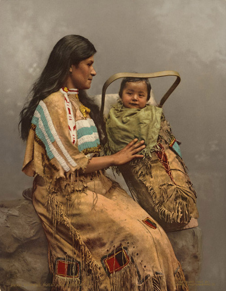 File:Chippewa, Woman and Infant, (1900).jpg