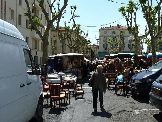Toulon le maché du Mourillon 4 Marc de Metz 2012