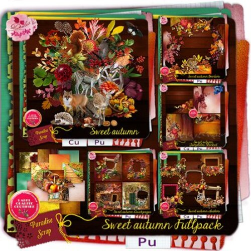 KIT SWEET AUTUMN DE DESCLICS