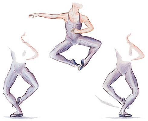 Danse classique Saut de chat