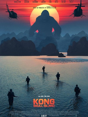 "KONG: SKULL ISLAND : Un prequel à ""King Kong"", qui raconte comment le gorille est devenu le roi de Skull Island....-----...Date de sortie 8 mars 2017 De Jordan Vogt-Roberts Avec Toshiko Onizawa, Tom Hiddleston, Brie Larson plus Genres Aventure, Fantastique, Action Nationalité Américain"
