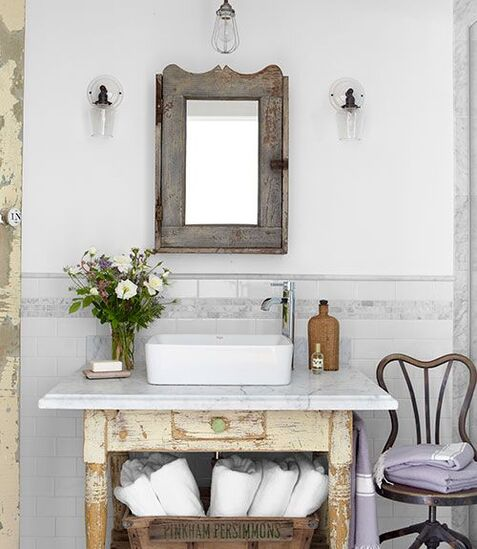 table toilette