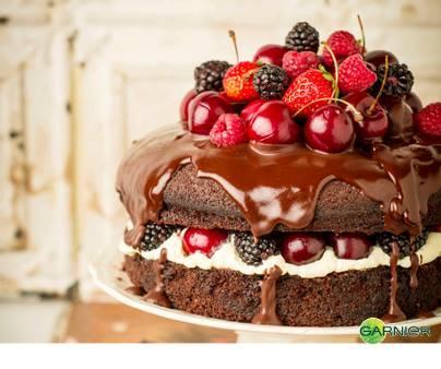 Gâteau en fimo : essai avec modèle