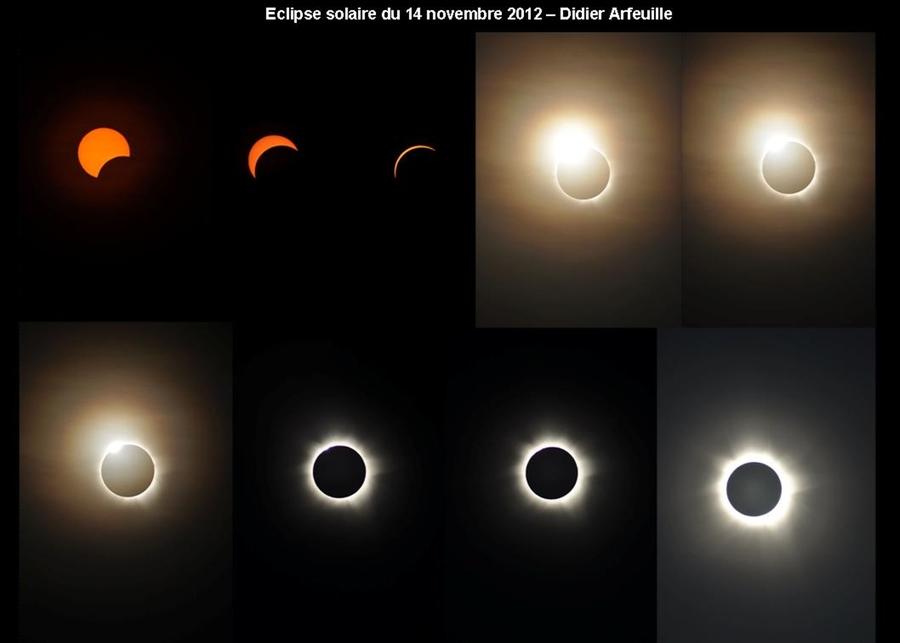 une eclipse du soleil