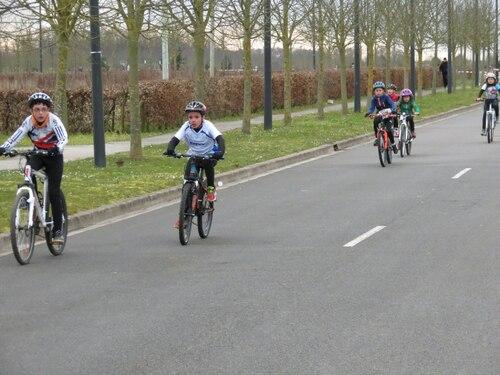 Vélo en course