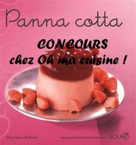 Panna cotta aux bonbons fruits rouge