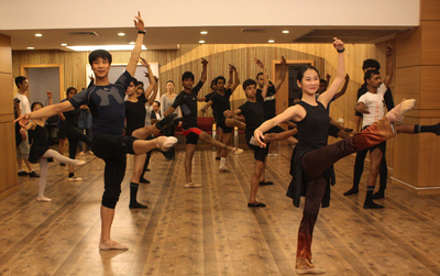 dance ballet audition  korean dancers