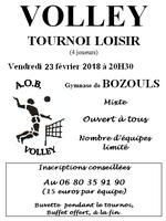 TOURNOI BOZOULS 23 février 2018