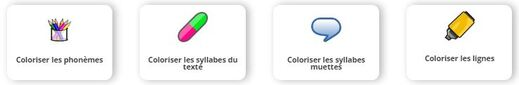 Coloriƨation : adaptation de textes pour dyslexiques (extension pour Word et Power Point)
