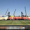 MDNA Tour Stage Construction in Tel Aviv