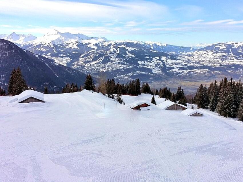Sortie/ski à Plaine-Joux...