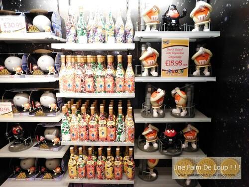 """Boutique """"M&M's World"""" Londres"""