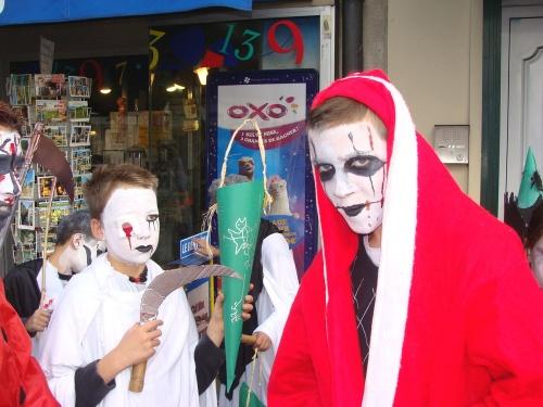 Halloween 2010 avec les jeunes de la MJC Lucie Aubrac...