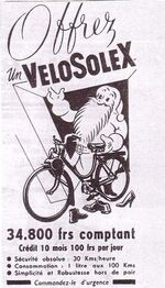 Vintage...le Solex roule toujours !
