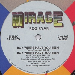 Roz Ryan - Boy Where Are You Been