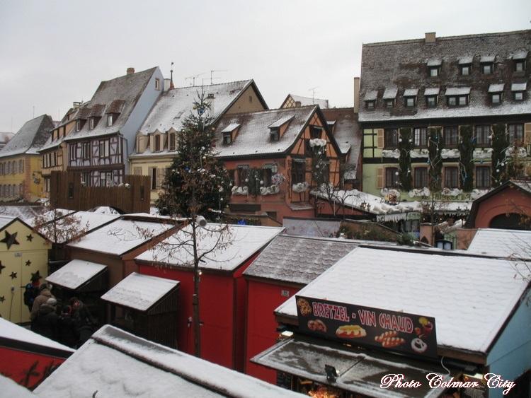 Fin des marchés de Noël : Colmar
