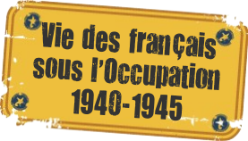 français sous l'occupation de 1940 à 1945