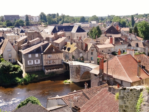 Montmorillon dans la Vienne (photos)