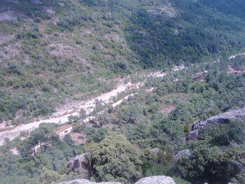 Le Cavu, vu du plateau